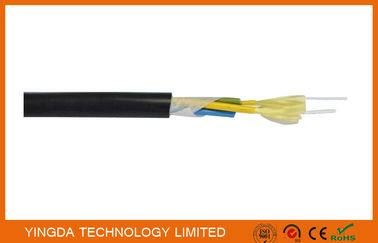 चीन Outdoor CATV Base Station Patch Cord FTTH Drop Cable 7.0mm PE Sheath Tight Buffered Cable फैक्टरी